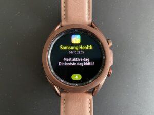 Anmeldelse Samsung Galaxy Watch 3